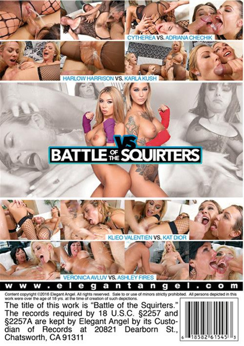 Battle Of The Squirters Threesome