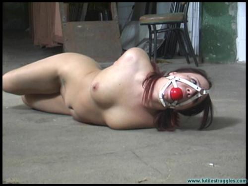 Brandy Cuffed Nude BDSM
