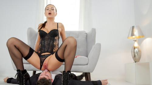 Tina Kay - Boyfriend licks girlfriends love holes (2020) Femdom and Strapon