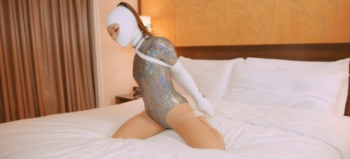 Restricted Senses – Silver Bed Bound Beauty