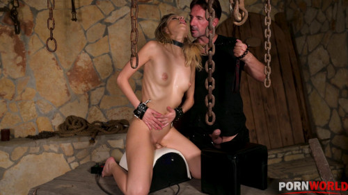 Super Sexy Rebecca Volpetti Has Asshole Destroyed in POWER EXCHANGE Dungeon Fuck Session