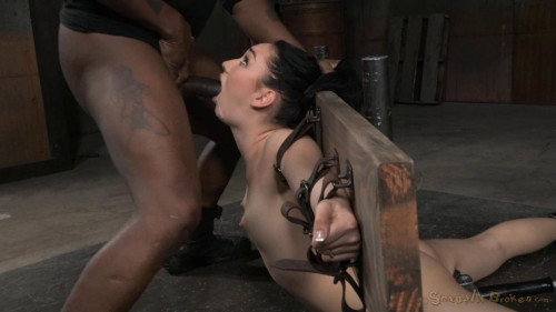 Sexy Aria Alexander Bound in Brutal Back...