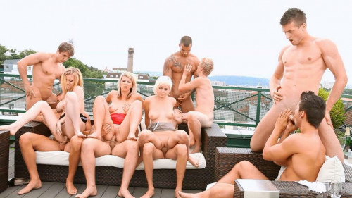 The Bi High Life Part vol.3 Sex Orgy