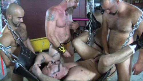 Cum Gangbang Party With Piss Whores