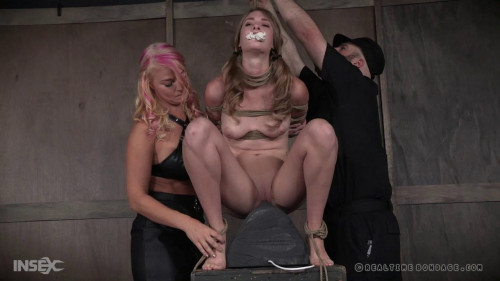 Realtime Bondage Ashley Lane Tanked (Part 1)