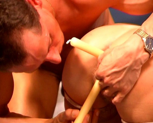 Candles to sex toys MILF Sex