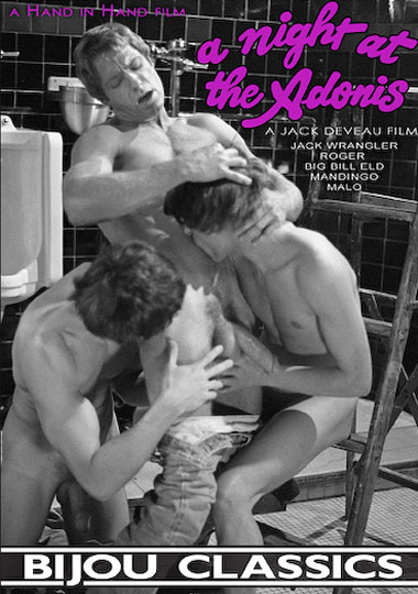 A Night at the Adonis (1983) - Jack Wrangler, Bill Eld, Mandingo Gay Retro
