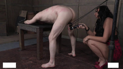 Dick Tied Femdom and Strapon