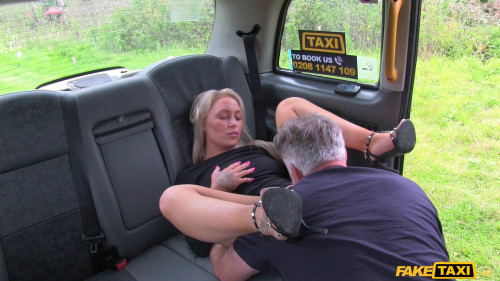 Blondes tight holes fucked in cab Amateurish