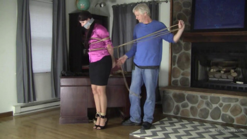Paige Erin Turner - Bitchy Woman Gets Bound