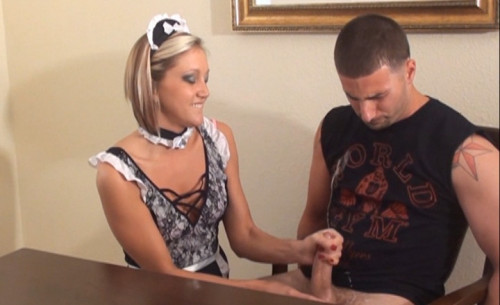 The Mistresses Maid Handjob