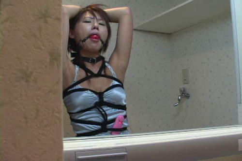 Gag slave Asians BDSM