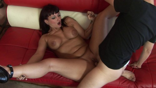 Warm cum for MILF's thirsty mouth Big Tits