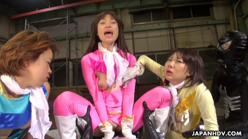 Galactic Sentai Brave are captured and a sex fuckfest ensues (2021)