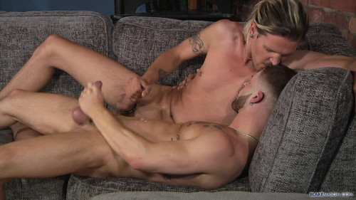 Charlie Grey & Koby Lewis - Charlie Fills Koby With Cock
