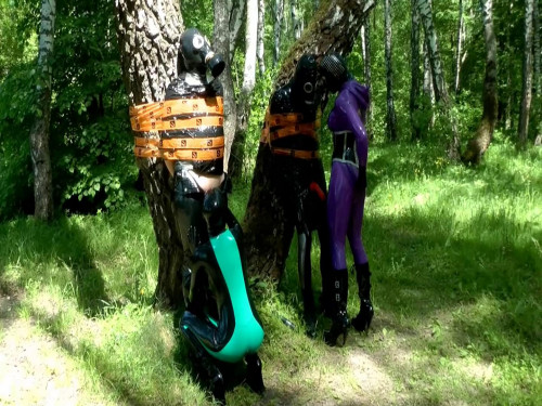 Naughty Forest Fairies - Scene.2 Femdom and Strapon