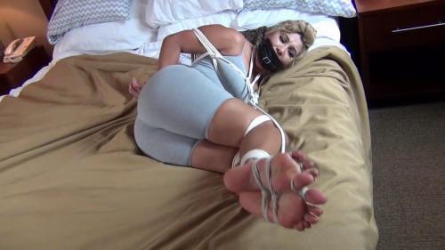 Spandex bondage BDSM