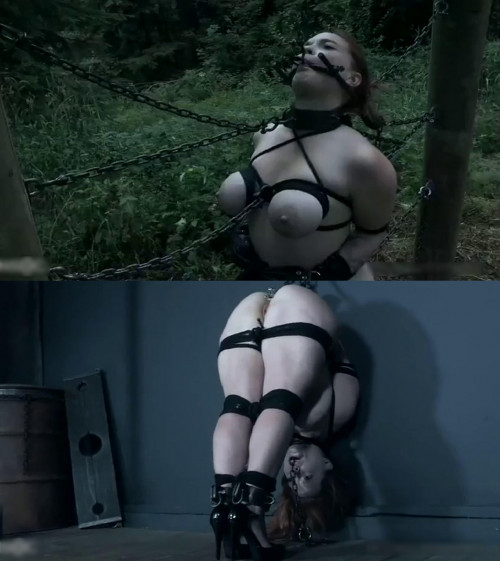 Hard bondage, strappado and torture for sexy naked angel