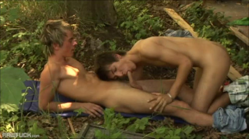 Horny Twink Couple Finally Alone - RawFuck