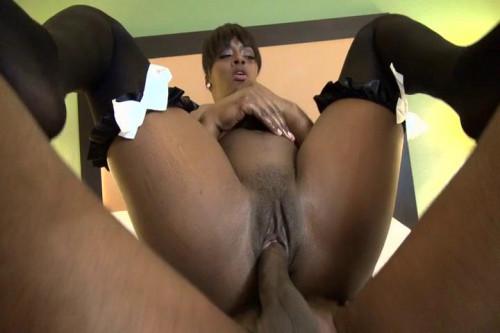 Big tit milf ebony andrea fucked by bbc  480p
