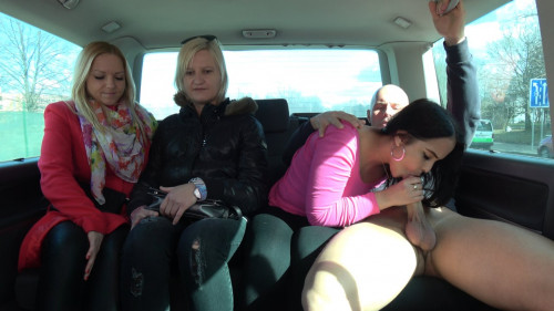 Jennifer - Girlfriends Left One Of Them Enjoy Cock In Driving Van 1080p Public sex