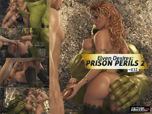 Elven Desires - Prison Perils part 2