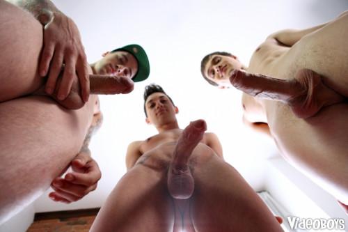 VideoB - VideoBoys Cumshot Contest - Luda Wayne, Simon Archer, Seth Corrigan Gay Unusual