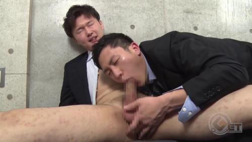 イケメン過ぎ注意!natsukiが短髪スーツ姿で汗だくエロピストン