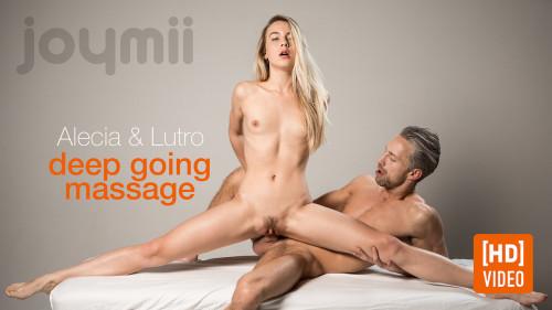 Alecia Fox - Deep Going Massage (2017) Sex Massage