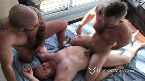 Deviant Man - Eisen Loch, Nigel March & Kitten Bear - Ginger Bang 720p Gay Clips