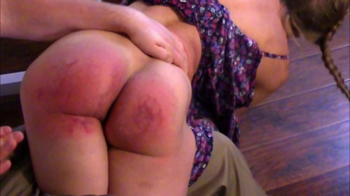 Severe Domestic Discipline Spanking - Scene 3 - Full HD 1080p