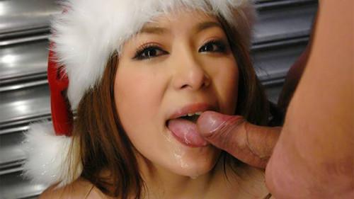 Mirai haneda masturbates her wet crack whilst surrounded by slutty chaps