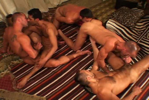 Sexy Nomads In Raw Gangbang