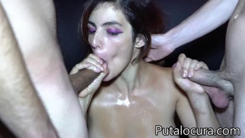 Claudia sevilla - bukkake Bukkake