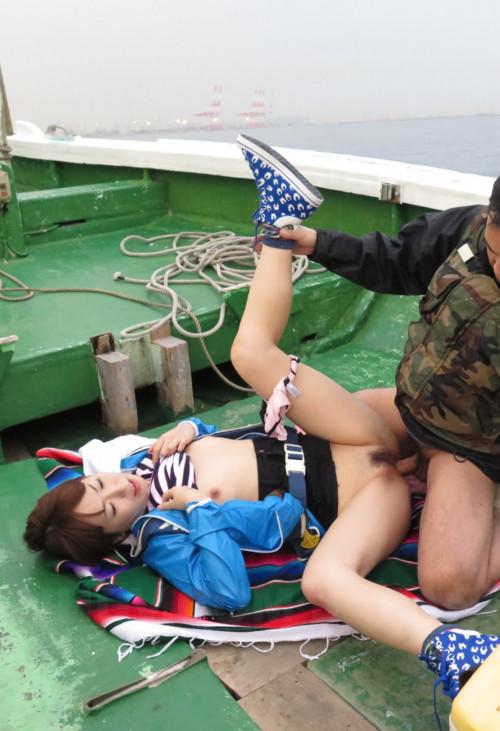 Nonoka Kaede - Fucked on a boat after fishing contest (2019)