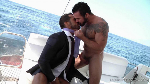 Men At Play - Full Throttle - Jessy Ares Fucks Denis Vega