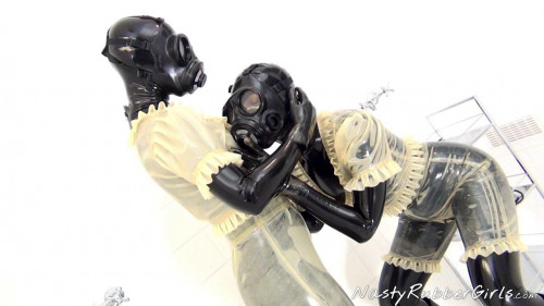 Rubber Layers, Gas Mask Dressing, Inflatable Dildo Part One
