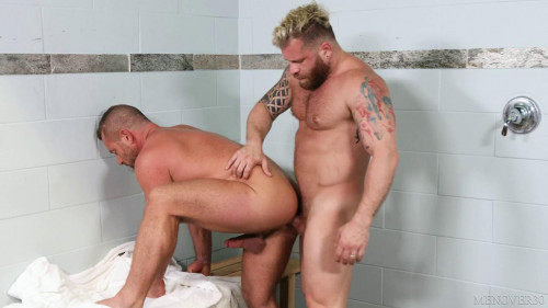 Riley Mitchel and Jacob Woods - Sauna Beef