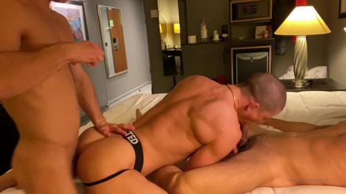 Ruslan Angelo & Allen King 3Some with hot Musician Guy in Germany