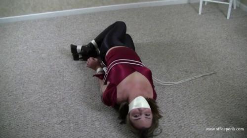 Belle Davis & Elizabeth Andrews - Tightly Bound Spandex Girlfriend