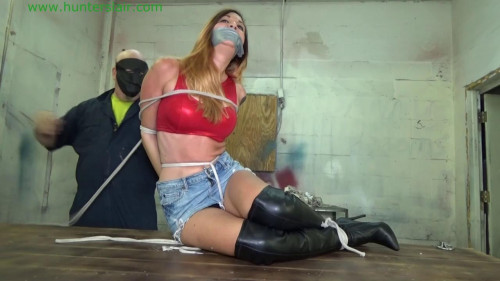 HunterSlair - Ayla Aysel - Pretty neighbor girl tied BDSM