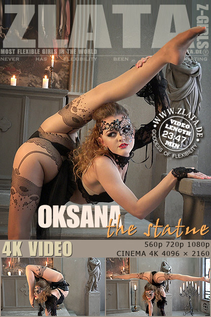 Zlata - Jan 18, 2017 - The Statue Erotic Video