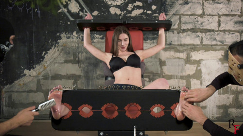 HD Bdsm Sex Videos Tickling hell for Bria in stocks or story how we tease