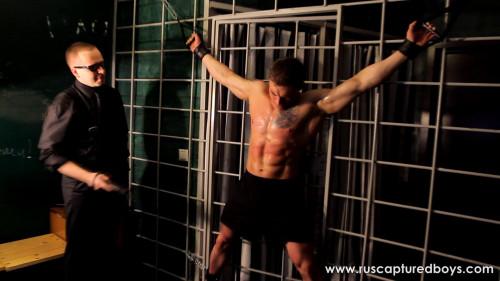 RusCapturedBoys - Bodybuilder Vasily in Jail Part II Gay BDSM