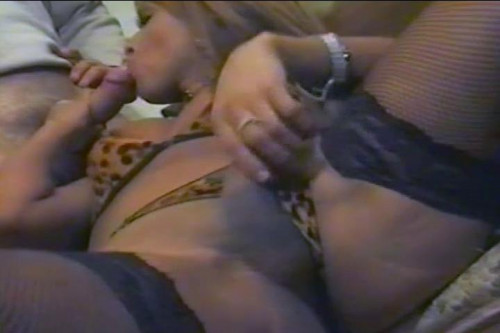 Cocksucking Trans Whore Gets Ass Reamed