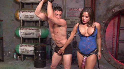 Chichi Fucks and Milks Her Slave Femdom and Strapon