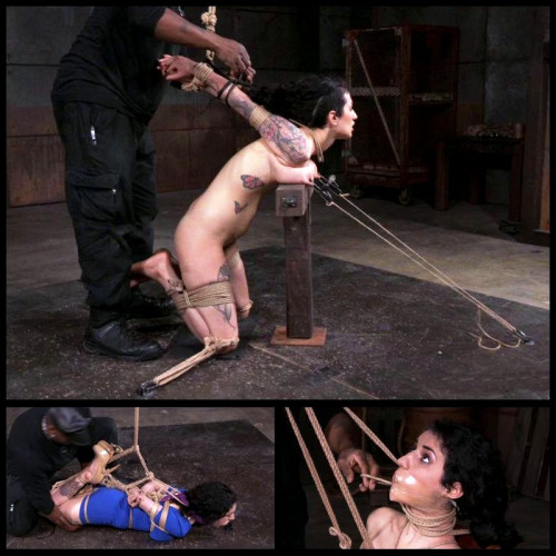 Pouty Pain Slut (Arabelle Raphael) Hardtied