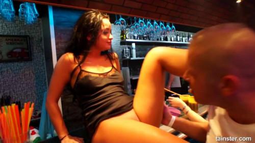 Pajama Pussy Party Part 3 - Cam 1 Public sex