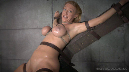 Blonde Milf Simone Sonay worked over rough by 2 schlongs