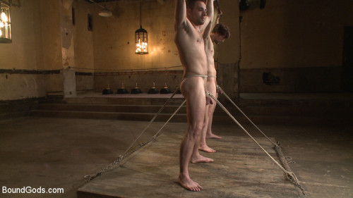Bound Gods Live: New House Slaves Tested by the Kink Olympics Gay BDSM